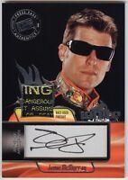 2012 Press Pass Ignite Jamie Mcmurray Auto Autograph Race-used Firesuit Tag