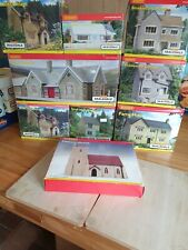 More details for hornby bachmann ratio wills oo scale model railway buildings - read description