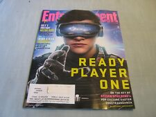 ENTERTAINMENT WEEKLY MAGAZINE March 30, 2018 READY PLAYER ONE Jason Aldean NEW