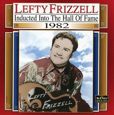 Lefty Frizzell - Country Music Hall of Fame 1982 [New CD]
