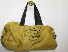 GUESS Men's Olive Green Double Strap Handle Zip Weekend Duffle Bag Extra Large