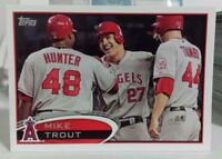 2017 TOPPS SERIES 1 BASEBALL CARD OF MIKE TROUT
