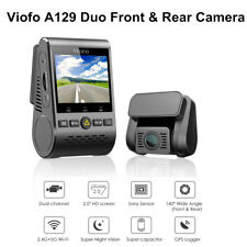 Viofo A129 Duo Dual Lens F1.6 1080P 30FPS Sony Starvis Sensor Wifi GPS Car Video