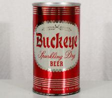Buckeye Early Ring Pull Tab Beer Can Meister Brau Chicago, Illinois Toledo, Ohio