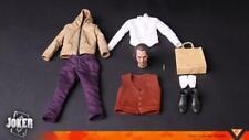 """TOP-001 1/6 JOKER Joaquin Phoenix Clothes W/ Head Sculpt F 12"""" Figure Toys Dolls"""