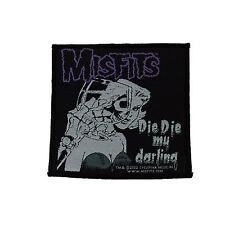 Misfits Die Die My Darling Woven Patch Official Merchandise