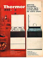 PUBLICITE  1966   THERMOR  cuisinière gazinière