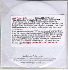 (AC492) Lake Trout, Lake Trout EP - DJ CD