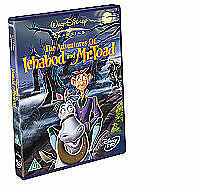 The Adventures Of Ichabod And Mister Toad DVD Disney SEALED no 11 in gold