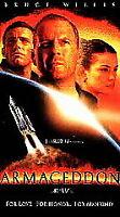Armageddon VHS Video Movie Tape Ben Affleck Bruce Willis 1998