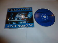 the course - ain't nodody - UK limited edition 4-track CD single