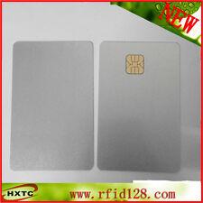 200pcs SLE4428 PVC blank card Big Chip Silver Smart IC Card