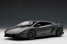 AutoArt Lamborghini Gallardo 570-4 Superleggera (Metallic Grey) 74657