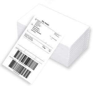 500 Versand-Etiketten Thermo-Etiketten für DHL DPD GLS 100x200 mm Leporello