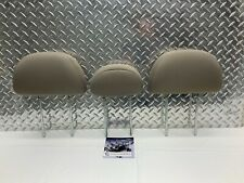 05-12 FORD ESCAPE TRIBUTE REAR SEAT 2ND ROW HEADREST SET HEAD RESTS BEIGE CLOTH