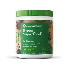 Amazing Grass Energy Green Superfood Organic Powder with Wheat Grass
