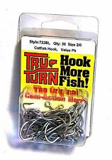 Tru-Turn Catfish 2/0 Fishing Hooks