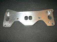 Mazda rotary 12a 6 port engine adapter plate to fit 12a  manifold