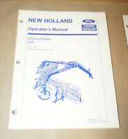 1994 Ford New Holland Unitized Rake 216 Operator's Manual P/N 42021612