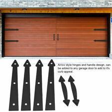 6Pcs Heavy Duty Magnetic Handle Hinge Set Garage Door Hardware Decorative