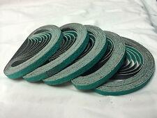 Sanding Belts 3M 330mm x 10mm 60g x 100pc. Zirconia linishing abrasive sander