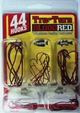 Tru-Turn Blood Red Hook Assortment, 44 Hooks, Panfish/Bass/Catfish #TT-BRK-88