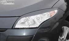 RDX Headlight covers RENAULT Megane 3 2008-2013