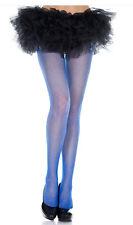 2 PAIRS Sheer Diamond Net Neon Color Fishnet Pantyhose Tights Medium/Plus Size