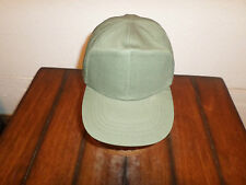 VINTAGE U.S MILITARY CAP ARMY HOT WEATHER OD GREEN BASEBALL CAP SIZE 7 1/8 USGI