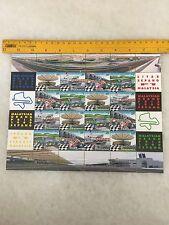 (JC) Malaysia Grand Prix 1999 Sepang -  1999 stamps sheetlet MNH 16V