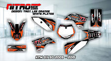 NitroMX Graphic Kit for KTM SX 50 SX50 2009 2010 2011 2012 2013 2014 2015 Decals