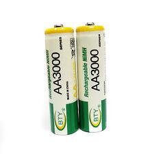 1 pcs AA 3000mAh Ni-MH cellules BTY batterie rechargeable pour lecteur CD flash appareil photo