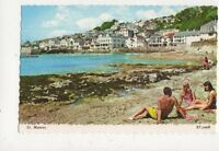 St Mawes Cornwall Old Postcard 482a