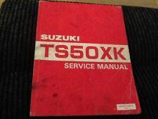 Suzuki TS 50 XK Service Manual