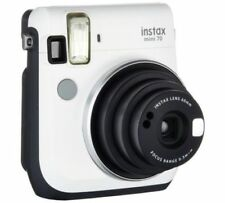 Fuji Instax Mini 70 Instant Camera with 10 Shots - White (UK Stock) BNIB