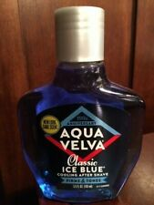 AQUA VELVA CLASSIC ICE BLUE COOLING AFTER SHAVE  FIRMS & TONES SKIN 3.5 oz