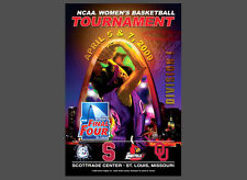 NCAA Women's Basketball FINAL FOUR 2009 St. Louis Official Event Poster