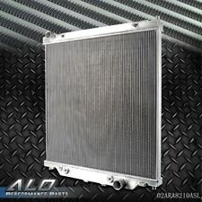 Gplus Aluminum Radiator For FORD F250 F350 POWERSTROKE 6.0L AT/MT 2003-2007