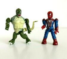 Marvel Mega Bloks Mini Figures -  Amazing Spider-Man And Lizard Set