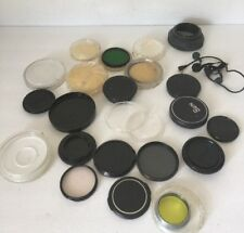 Camera Accessories 35mm Vintage Lot Caps And Misc Items
