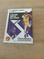 2019-20 Panini NBA Chronicles Bronze LeBron James