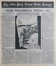 OLIVER LA FARGE C-47 EAGLE IN THE EGGS COZZENS 1949 July 24 NY Times Book Review
