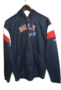 Buffalo Bills NFL Men's Reebok Zip Up Sweatshirt Hoodie Size M