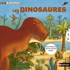 Kididoc: Les Dinosaures: 10 by Roland, Claudine Book The Cheap Fast Free Post