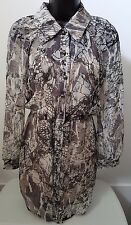 Plenty by Tracy Reese NWT Womens 100% Silk Multi Color Shirt Dress Size P (S)