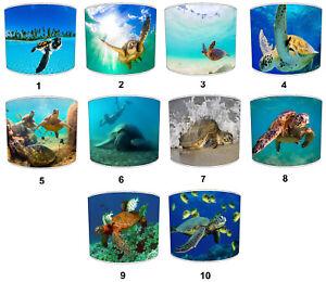 Sea Turtles Designs Lampshades Ideale da Abbinare Mare Marino Letto Set &
