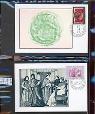 STAMPS 2 CARD MAXIMUN VATICAN CITY POPE (L7283)