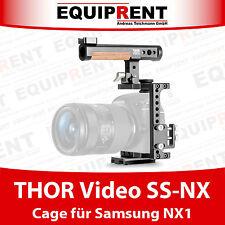 Thor video SS-NX pasaporte con mayor precisión Cage con HDMI lock para Samsung nx1 DSLR (eqt25)