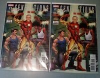 GENERATIONS THE IRON STAN LEE VARIANT DON'T MISS THIS!!