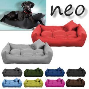 Luxury Soft Comfy Dog Cat Pet Warm Sofa Bed Cushion Extra LARGE up to 130cm NEO